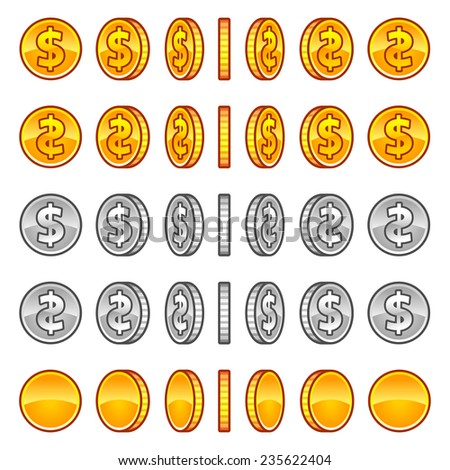 stock-vector-vector-dollar-coins-rotatio