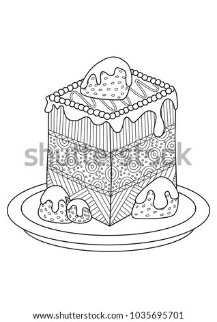 vector doodle coloring book