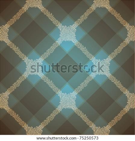 vector doodle seamless cute tartan texture