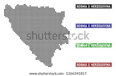 vector dot abstract bosnia and