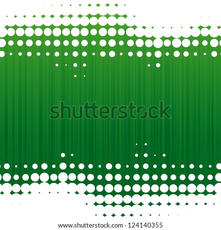 vector dot green background