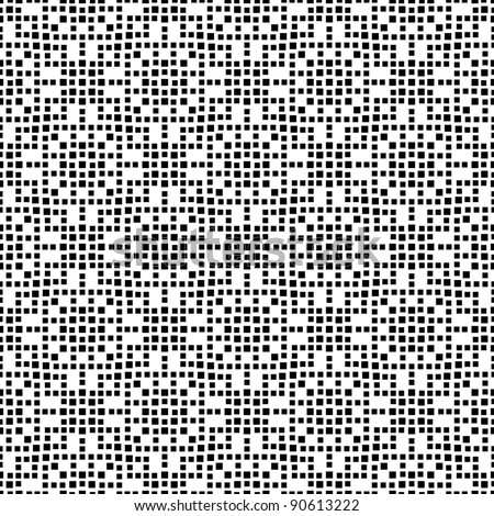 Vector dots black and white seamless pattern