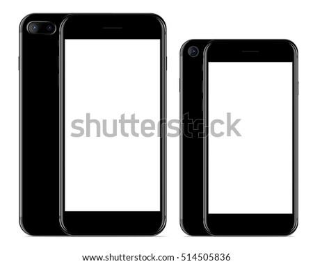 vector drawing  mockup phone