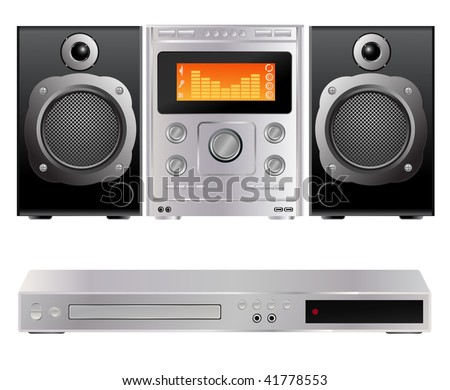 vector dvd and music hi-fi player