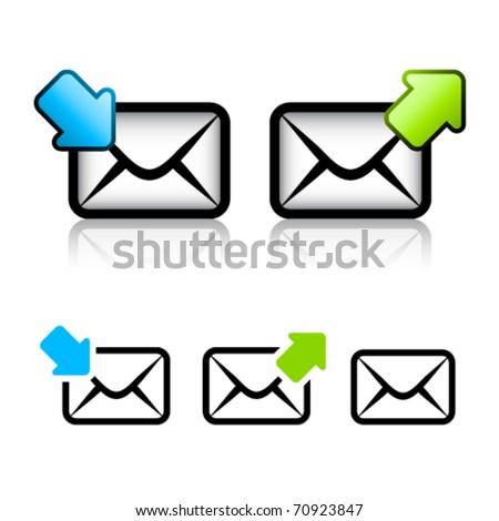 vector e-mail envelope icon