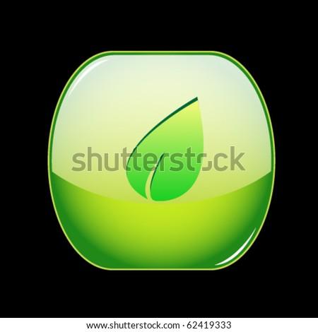 Vector ecology shiny button