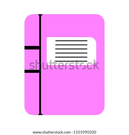 vector education book illustration symbol - learning book icon
