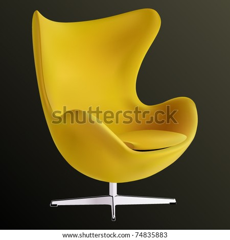 vector egg chair
