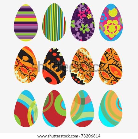 Vector eggs #73206814