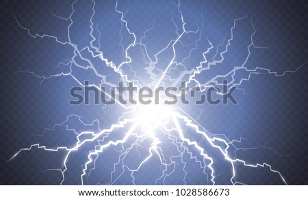 Royalty Free Electric Lighting Effect Abstract