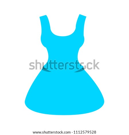 vector elegant dress template, design fashion woman illustration - beautiful women silhouette
