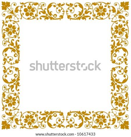 Vector elegant frame