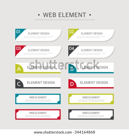 Vector element design set