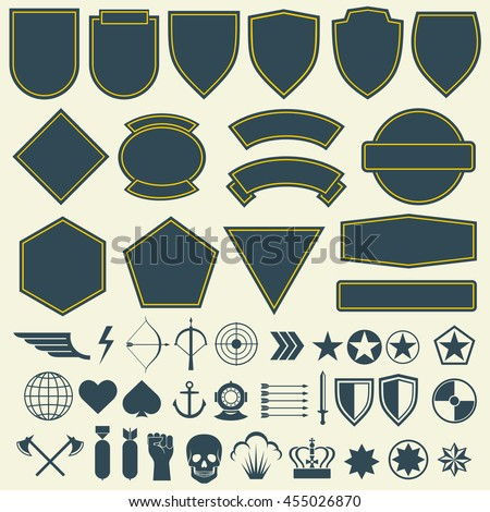 vector elements for military