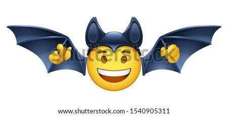 vector emoji for halloween