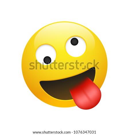 vector emoji yellow smiley