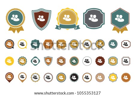 vector employee icon