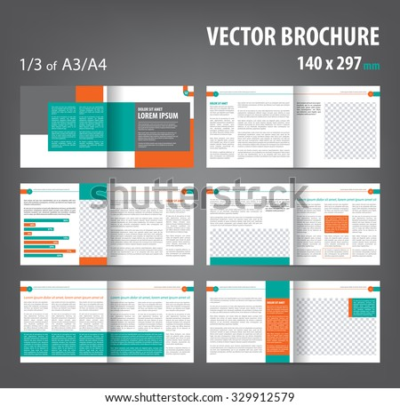 Business Flyer Pamphlet Brochure Design Template In A4 Download