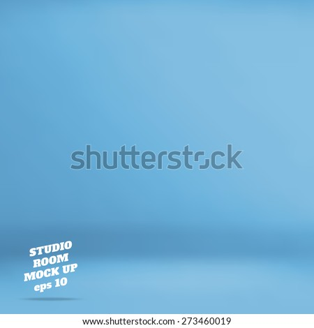 vector   empty blue  studio