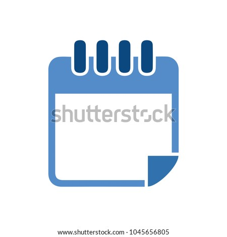 vector empty calendar icon, calendar symbol, event icon