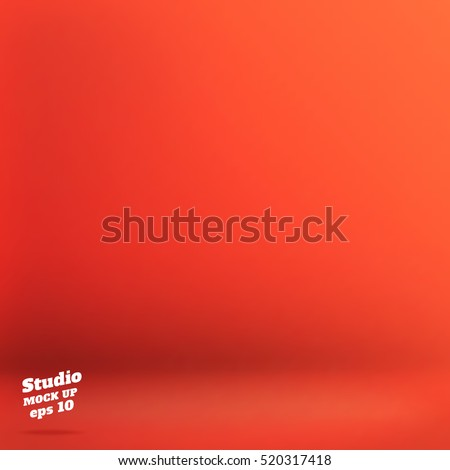 vector empty orange red color