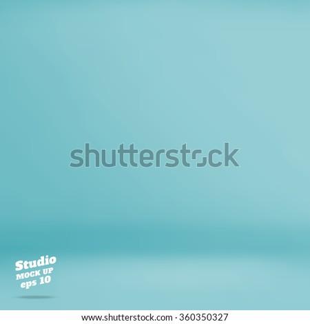vector  empty pastel turquoise
