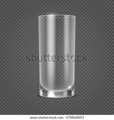 vector empty realistic drinking