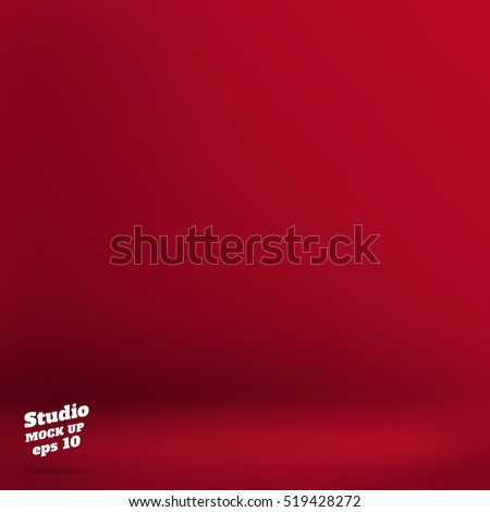 vector empty velvet red color