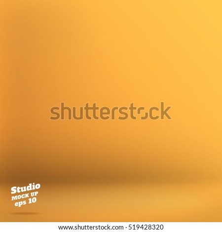 vector empty yellow orange