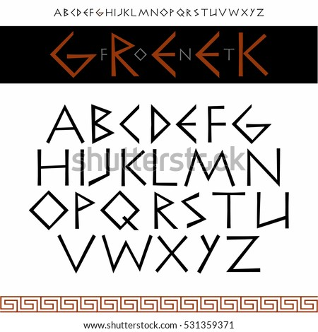 Greek Letters Font Boatremyeaton