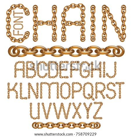vector english alphabet letters