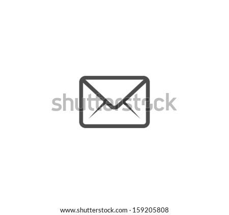 Vector Envelope Icon Symbol