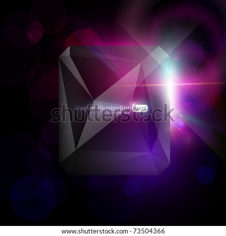Vector. Eps10. Abstract modern design with space for your message. All elements are editable.