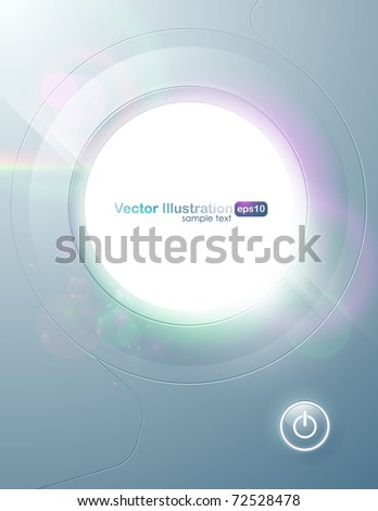 Vector. Eps10. Original contemporary design with space for message. Artwork is fully editable. - stock vector