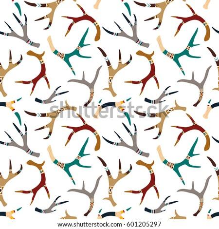 vector ethnic seamless pattern...