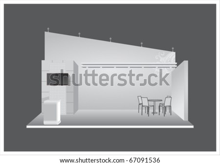 Vector Exhibition Stand