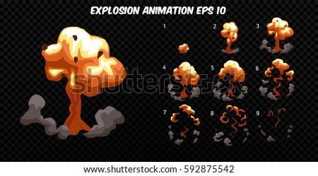 vector explode explode effect