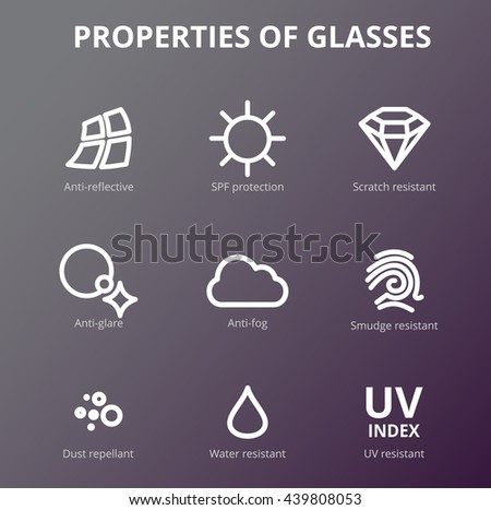 vector eye care  glasses