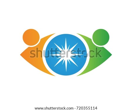 Vector - Eye care logo vector