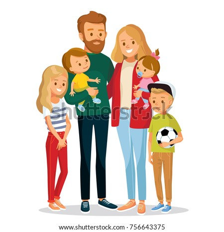 Vector family with children