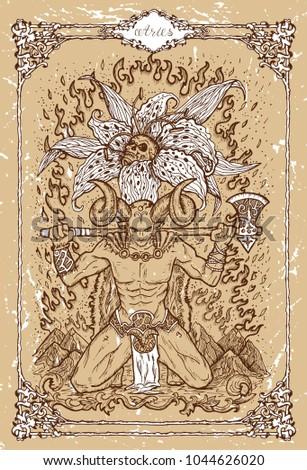 vector fantasy zodiac sign