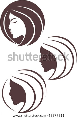 vector fashion icon logo