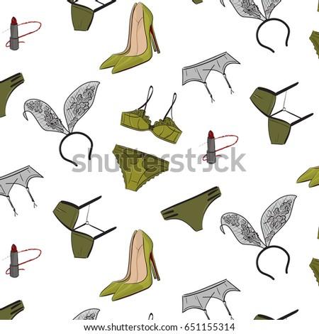 vector fashion illustration