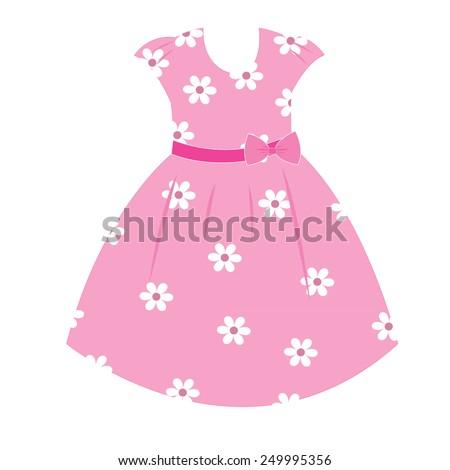 vector fashionable dresses for