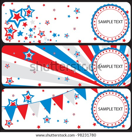vector festive background banner