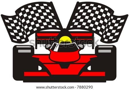 vector file racing car