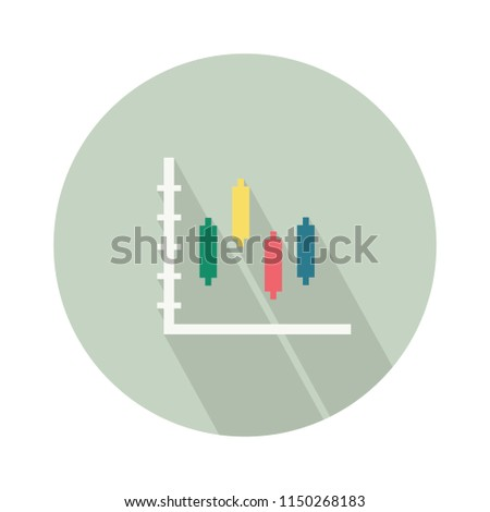 stock-vector-vector-finance-bar-chart-infographic-icon