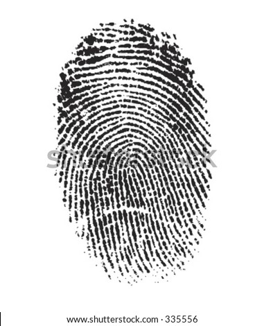 Vector Finger Print Very detailed