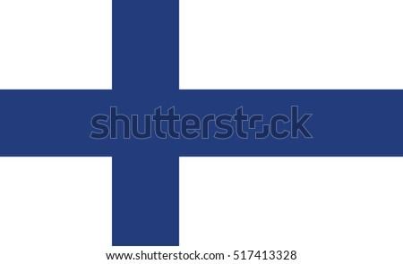 Vector Finland flag, Finland flag illustration, Finland flag picture, Finland flag image