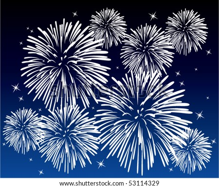 fireworks background color. fireworks background